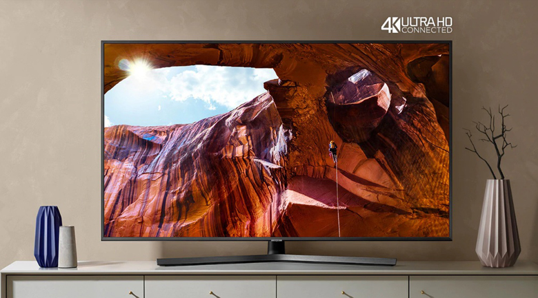 Smart Tivi Samsung 4K 43 inch UA43RU7400 - Thiết kế