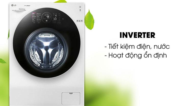 Công nghệ Inverter - Máy giặt sấy LG Inverter 10.5 kg FG1405H3W1