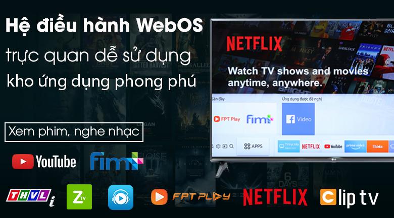 Smart Tivi LG 43 inch 43LM5700PTC hệ điều hành WebOS 4.5