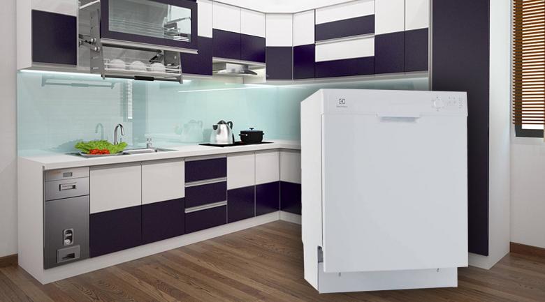 Máy rửa chén Electrolux ESF5206LOW 1950W- Thiết kế sang trọng