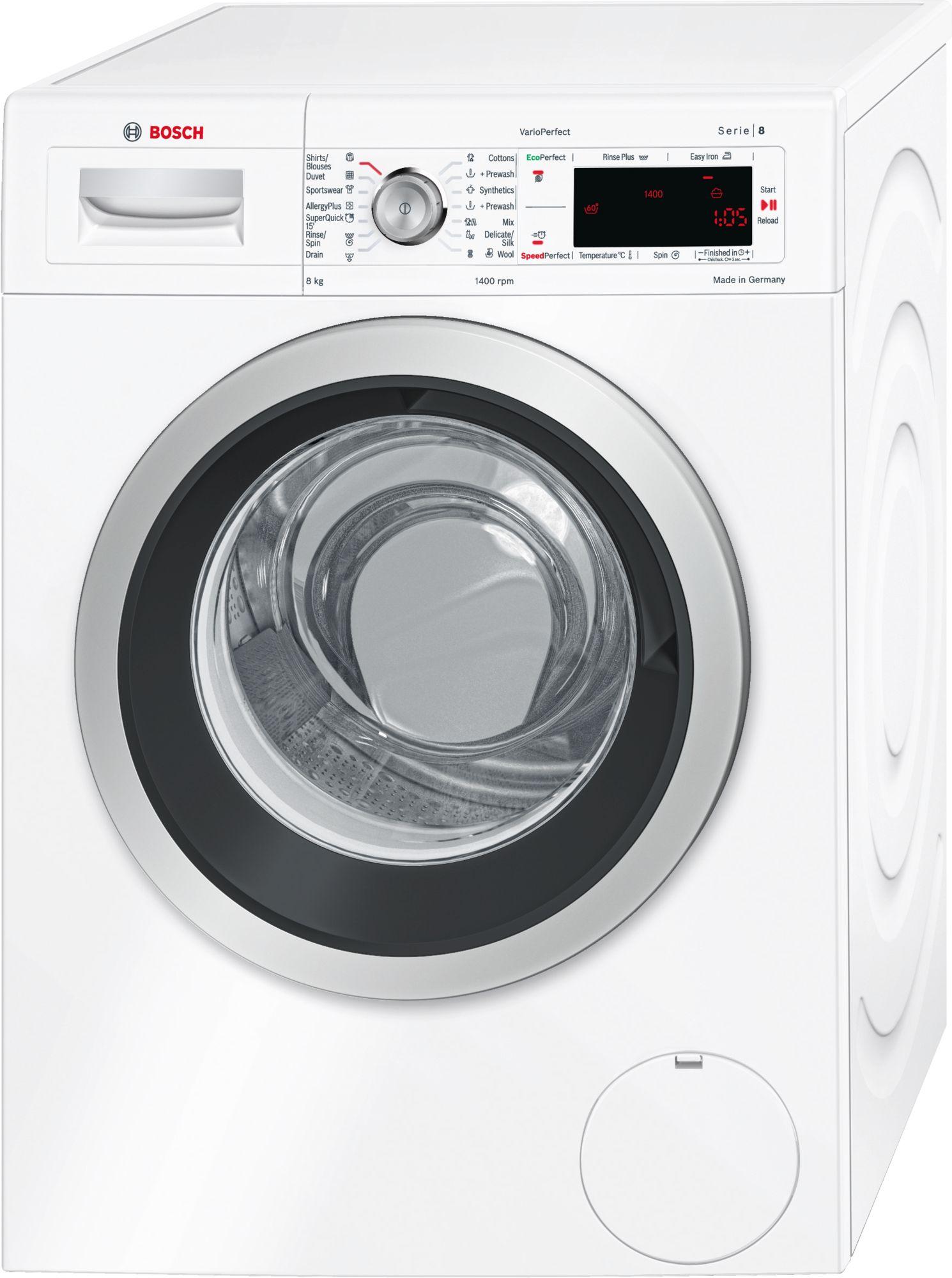 Máy giặt Bosch WAW28440SG 8kg, Seri 8