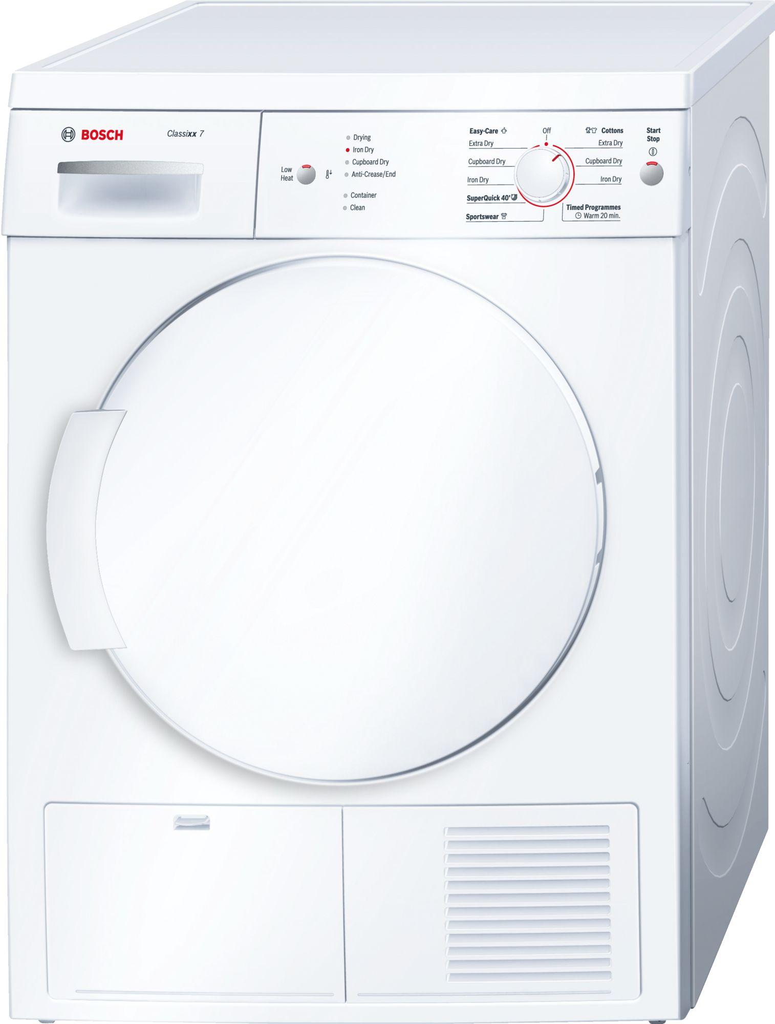 Máy sấy tụ hơi Bosch WTE84105GB Series 4 - 7kg