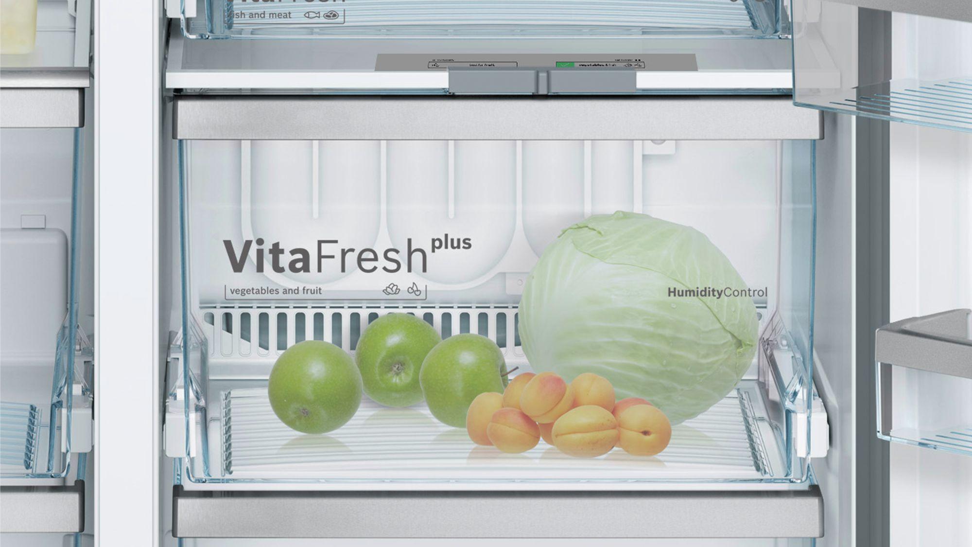 Tủ lạnh side by side Bosch KAD92SB30