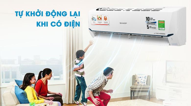 Máy lạnh Sharp Inverter 1 HP AH-X9XEW   Mới 2020