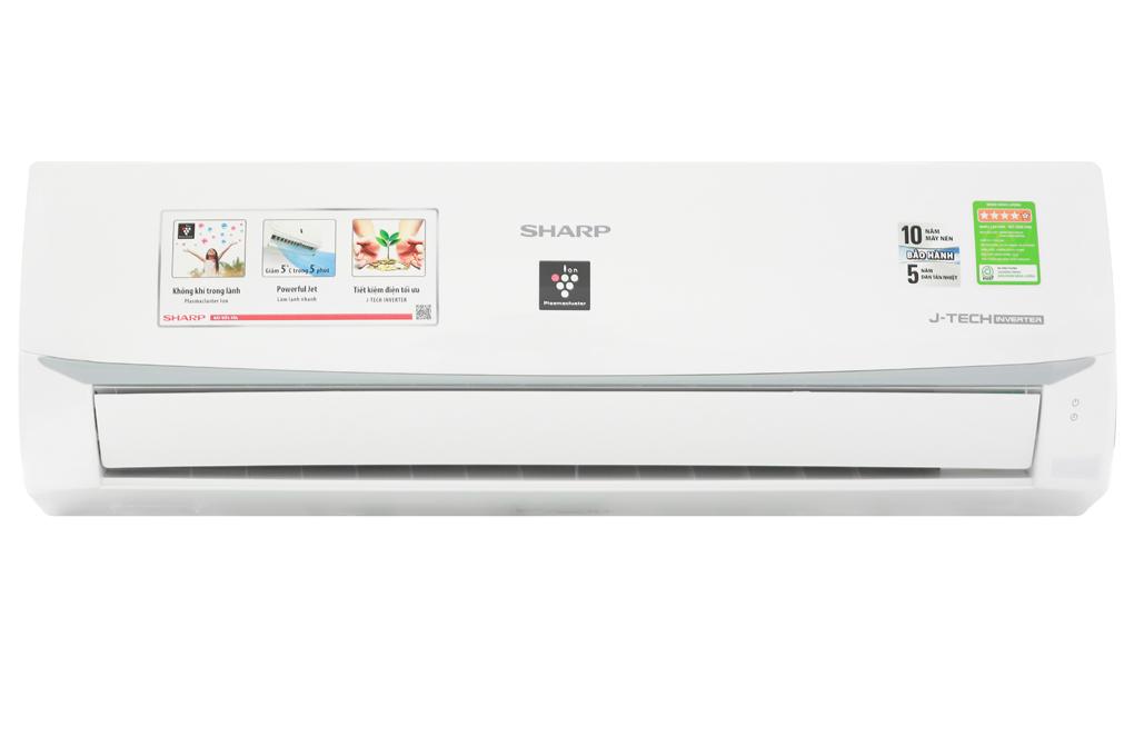 Máy lạnh Sharp Inveter 1 HP AH-XP10WMW