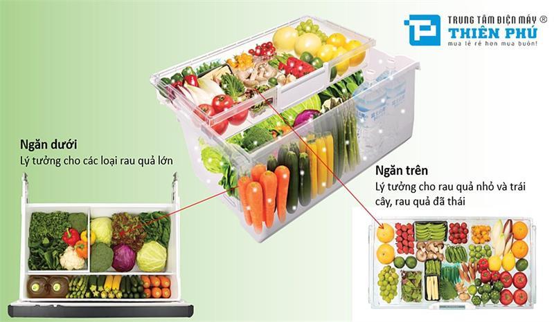 Tủ lạnh Hitachi 375L SG38PGV9X (GBW)