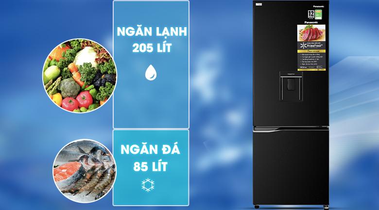 Tủ lạnh Panasonic NR-BV320WKVN Mẫu 2020