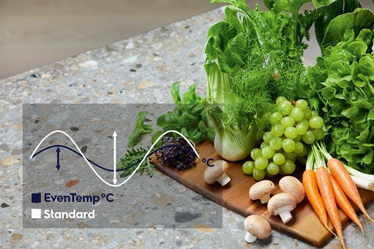 Công nghệ làm lạnh EvenTemp cho thực phẩm luôn tươi ngon